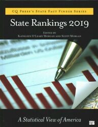 State Rankings 2019 A Statistical View Of America Hardcover By Morgan Kat...