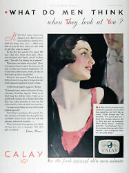 1931 And 1932 Calay Beauty Soap Lot Of 2 Genuine Vintage Ads Rare Cdn Ad