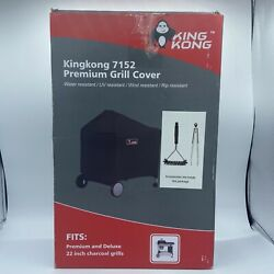 Kingkong 7152 Grill Cover For Weber Performer Charcoal Grills, 22-inch Compared
