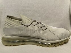 Nike Menand039s Air Max Flair Light Bone Ivory Running Shoes 942236-005 Sneakers 13