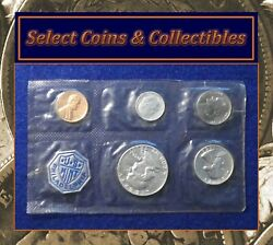1956 Silver Proof 5 Coin Set With Type 1 Franklin Half Dollar 1103