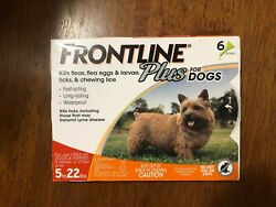 FRONTLINE Plus for Small Dogs 5 22 lbs 6 Month Supply EPA Approved FREE SHIP