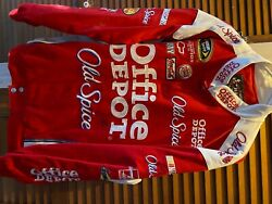 Tony Stewart Jacket Autographed And Cooler