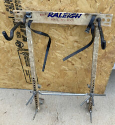 Raleigh Bicycle Store Display Rack Stand Sign Vintage Bike Worlds Finest Bicycle