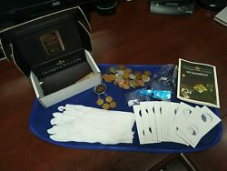 Coin Collecting Starter Kit- Us And Foreign Coins, Silver, Supplies Free Ship