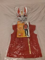 Fortnite Drift Adult Cosplay Halloween Costume Vest And Face Cover - Medium