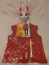 Fortnite Drift Adult Cosplay Halloween Costume Vest And Face Cover - Large