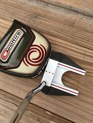 Odyssey O-works Tank 7 Putter 35 Inch Right Handed Super Stroke Grip With Cover