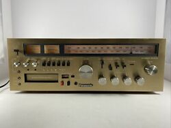 Vintage Panasonic Am/fm Tuner Receiver Ra-6600 Stereo 8 Track Recorder Tested