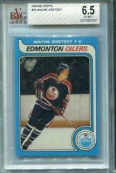 1979 Topps 18 Wayne Gretzky Rookie Bgs 6.5 All Time Great