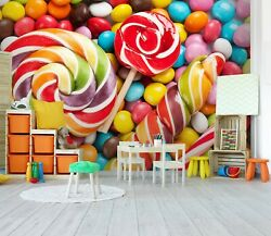 3d Colorful Candy 379na Jesus Religion God Wall Paper Wall Print Decal Mural Ava