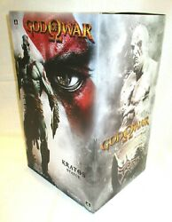 Kratos God Of War Sideshow Collectibles Polystone Statue Maquette Original 42