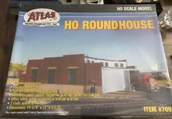 Atlas Ho Scale Roundhouse Model Sealed Box Kit Box Has Not Been Crushed Read