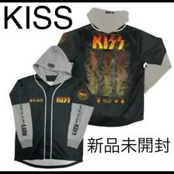 Kiss End Of The Road World Tour 2019 Hooded Baseball Shirt L