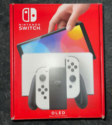 🎮nintendo Switch Oled White Console Brand New Sealed Pre Order Confirmed