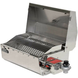 Springfield Boat Bbq Grill 1940060   Propane Rail Mount Stainless