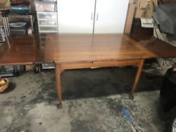 Authentic Cherry Valley Stickley Dining Table