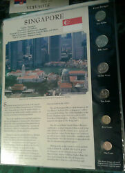Coins From Around The World Singapore 1995 - 2006 Bu Unc 1 10 Cents 2006