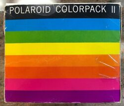 Polaroid Colorpack Ii Land Camera Complete With Registration Card In Box