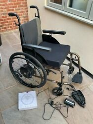 Kuschall Compact Wheelchair 46x46cm With Alber Twion M24 Power Wheels