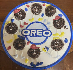 """Vintage Nabisco Classics Collections """"oreo"""" Cookie Collectible Display Plate"""