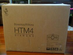 Bandw Bowers And Wilkins Htm4 Diamond Bower And Wilkins Htm4d2 Gloss Black - Mint