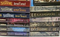 R.a. Salvatore 13 Forgotten Realms Paperback Books Used War Of The Spider Queen