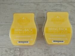 Two SCENTSY Bars LEMON COCONUT CHIFFON Bring Back My Bar Collection 2016 NEW