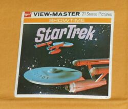 Vintage Star Trek The Omega Glory View-master Reels Packet With Booklet