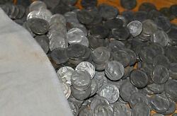 50x Buffalo Indian Head Nickels 5c Mixed Date Coins Full Dates Circulated