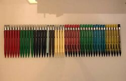 New Vintage Pentel Quicker Clicker, Nos, No Grip, Multiple Sizes And Colors