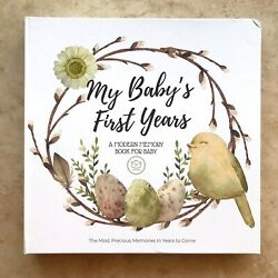 Keababies My Babyand039s First Years 90-page Memory Book Journal For Baby Andmdash Flawed
