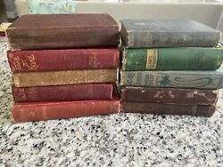 Antique Elsie Book Lot Of 10- Martha Tinley - Dodd, Mead And Co.- Late 1800's