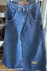 Womens Jnco Jean Vintage From 90's No Tag Rave JTrain