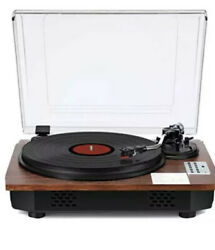 Record Player With Speakers Turntable For Vinyl Records Bluetooth Usb Encoding