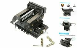 Drill Press Vise Heavy Duty Cross Slide Vise Solid 6 Inch X-y Compound