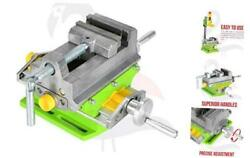 Pts- Compound Cross Slide Vise Flat Vise Bench Clamp Drill Press Vise Clamp
