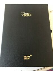 Mont Blanc Club 4810 Membership Box Empty Exclusive Collectors Limited