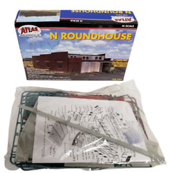 Atlas N Scale Roundhouse 2843 3 Stall Atlas Model Railroad Train Accessory New