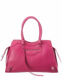 Balenciaga Neo Classic Large Leather Shoulder Bag Womenand039s
