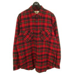 Fear Of God Checked Flannel Shirt M