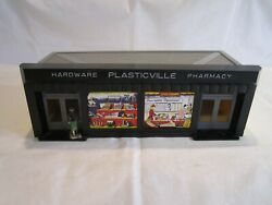 Vintage O And S Gauge Scale Plastic Train Scenery Building Accessory Built