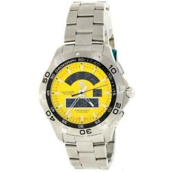 Tag Heuer Caf1011.ba0821 Aquaracer Menand039s Analog-digital Stainless Steel Watch