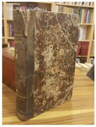 Antique Greek Book 839 Pages Double / Triple Book Old 1871 - 1873