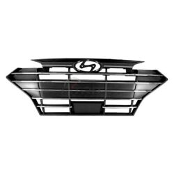 New Front Grille Abs Plastic Fits Hyundai Elantra 2019-2020 Hy1200213 86350f3520