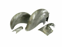 New Indian Chief Post War Model Mudguard Fender Set With Chain Guard