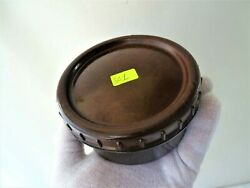 Vintage Military Wwii Ww2 Round Bakelite Box , Food Container , Lid