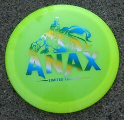 Limited Edition Green Mountain Discraft Yellow Z Anax Disc Golf 170-172g