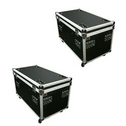 2 Utility Case Dj Trunk 45 Ata Tour Flight Road Case With Dividers And Tray Osp