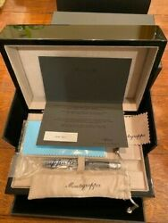 Montegrappa Extra Hi-tech Limited Edition Fountain Pen - Number 42 Of 250 - Mint